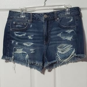 American Eagle Outfitters Distressed Shorts